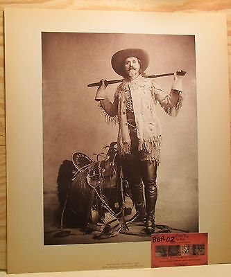 AUTHENTIC Buffalo Bill Standing Print Museum Historical Center Cody 2