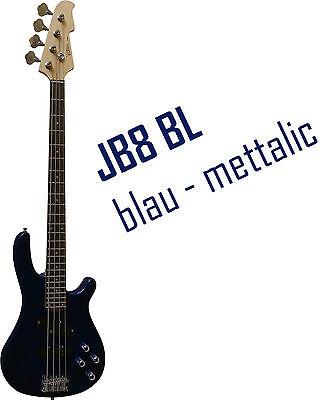 SET!n Piks,Kabel,weitere FARBEN E-Bass,JB8 von MSA-MIT-Gigbag-Tasche Band