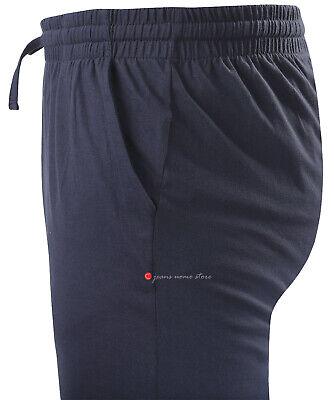 Pantalone tuta uomo FELPA cotone leggero estivo elastico TAGLIE FORTI 4 colori 3
