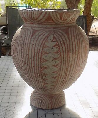Antique, 400 BC-200 AD Thai Ban Chiang Earthenware Jar with Book 3