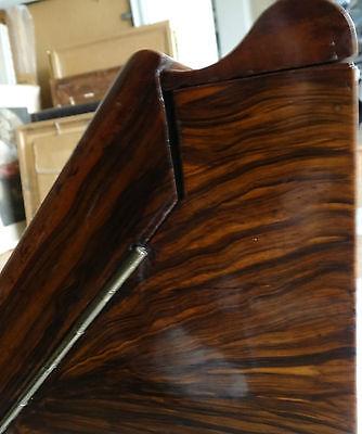 Antique 19Th Century Burr Walnut Stationery Box - Stylish & Original For A Loved 11