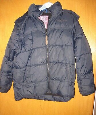 Kid's 2 Anorak style jackets. bothNavy, suit 6/7 yr olds. One never used. 4