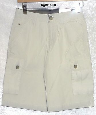 3dde18d194 ... Tommy Hilfiger Boys Cargo Shorts Solid Cotton Youth size 6 8 10 12 18  NEW 3