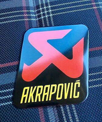AKRAPOVIC 90mm/70mm Exhaust Heat Proof Resistant Sticker Decal Motorcycle Bike