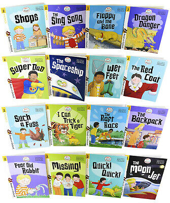 Biff, Chip and Kipper Stage 2 Read with Oxford 16 Books Collection Set - Age 4+ 3