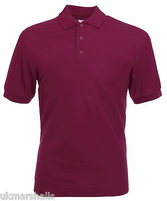 Bulk Buyer Fruit Of The Loom Polo T Shirt 14 Colours All Sizes Bn 12