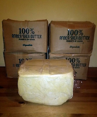 100% RAW AFRICAN SHEA BUTTER Unrefined Organic Pure GHANA Choose SIZE And COLOR 7