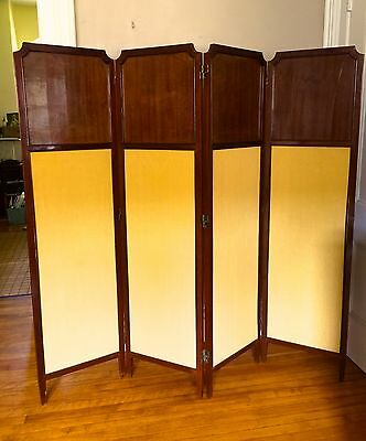 Antique ENGLISH Room Divider SCREEN ~1890s 2