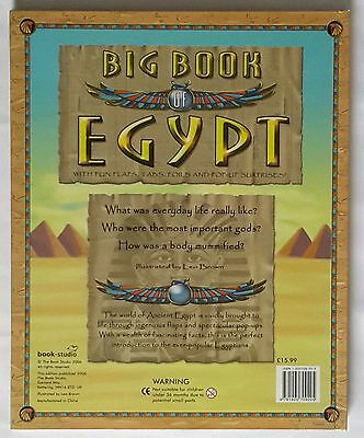 Big Book Of Egypt With Fun Flaps, Tabs, Foils And Pop-up Surprises! 7