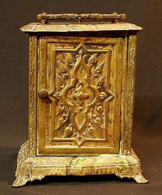 C1 1900 MUCHA superbe pendule pendulette Art nouveau bronze 17c1.7kg clock déco 5