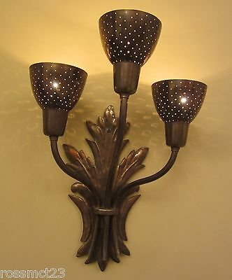 Vintage Sconces five matching Mid Century wall lights   More Available 2