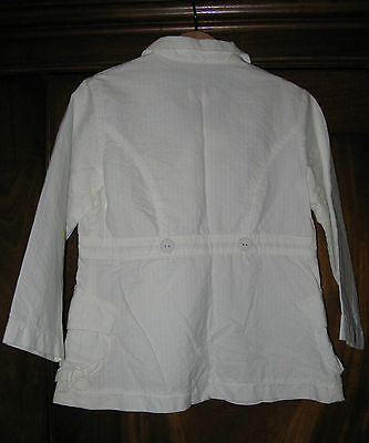 Catimini white suit jacket  ** AGE 4 ** BNWT 3