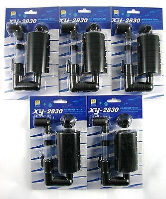 Aquarium Schwammfilter XY-2830 Biofilter Innenfilter Luftheber 5 Stück 3,50€/St 2