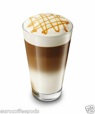 Tassimo Jacobs Latte Caramel Macchiato Coffee 3 Pack 48 T-Disc 24 Servings 4
