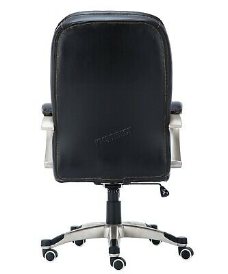 WestWood Executive Office Chair – Leather Swivel Computer High Back OC01 Black 5