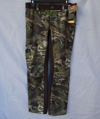 New Women/'s Under Armour Fletching Hunting Pants Ridge Reaper Forest Size 8