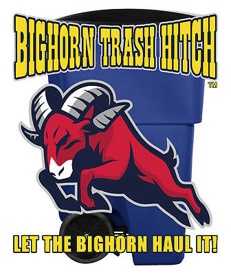 Bighorn Trash Hitch™ - Easy Trash Can Hauler 8