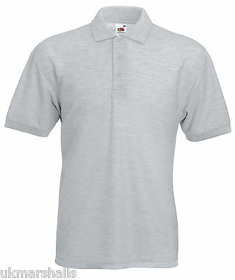 Bulk Buyer Fruit Of The Loom Polo T Shirt 14 Colours All Sizes Bn 8