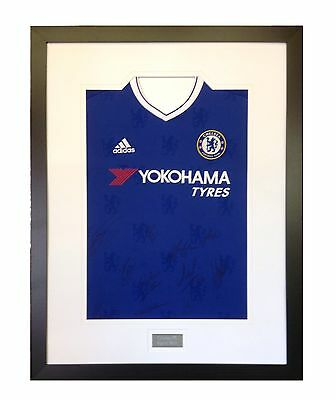 Frame For Your Signed Football/ Rugby Shirt + Free Engraved Plaque+Shirt Insert 2