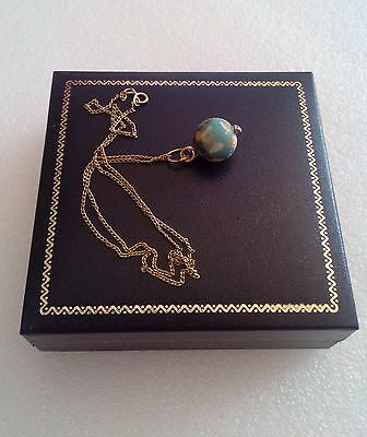 Vintage 14K Gold Necklace With 2,000 Year Old Ancient Eastern Mediterranean Bead 9