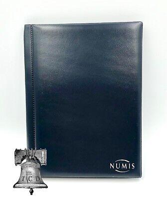 96 Pocket Coin Album Wallet Holder Lighthouse 8 Sheet Pages NUMIS Half Dollar 2