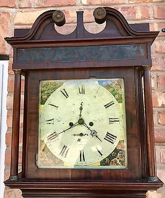 Mahogany Wignall Of Ormskirk 8 Day Grandfather Clock 2