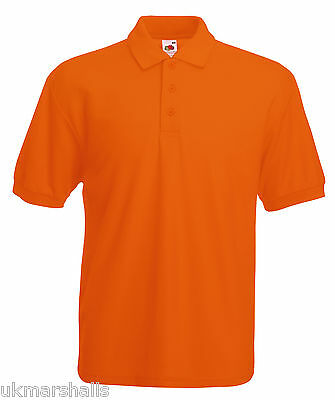 Bulk Buyer Fruit Of The Loom Polo T Shirt 14 Colours All Sizes Bn 4