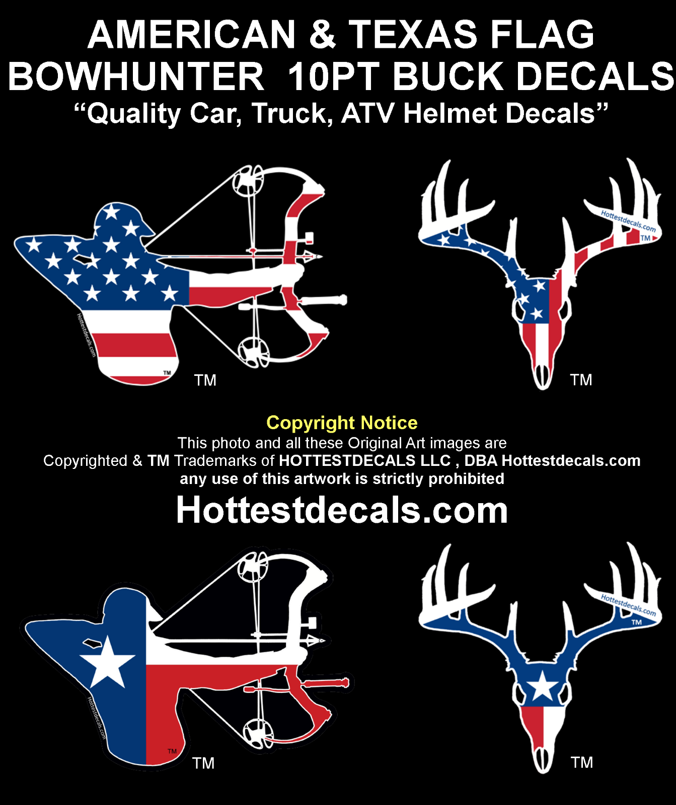 Deer Antlers Vinyl Decal Sticker Hunting Light Switch Kids Home Decor