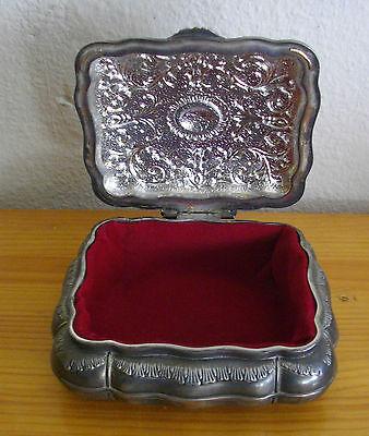 Joyero De Metal, Interior Forrado, 18X17X7 Ctms 3