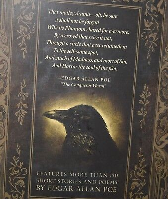 Complete Tales & Poems by Edgar Allan Poe Raven New Collectible Hardcover Gift 3