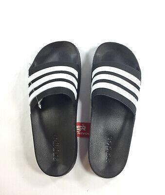 New adidas Men/'s Adilette CloudFoam Slides Gray Sandals B42212 Beach Slippers CF