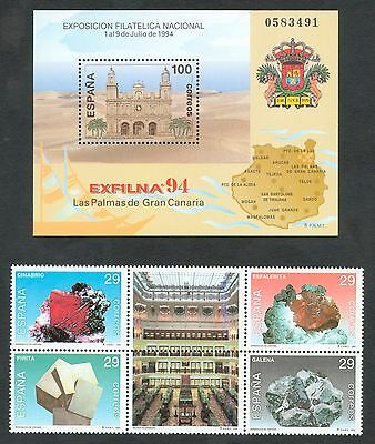 España - Año 1994 Completo - Nuevos Sin Fijasellos - Mnh 4