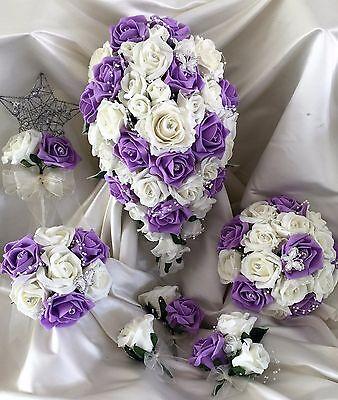 Fiori Matrimonio Mazzo di fiori, Perle & Strass Spose/Damigella/Asole 7