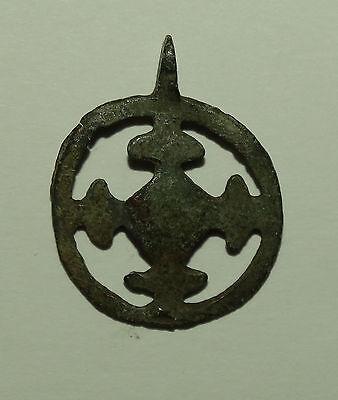 "Superb Viking  pendant "" Cross in a circle"". Kievan Rus. Viking. c 10--11 AD 6"