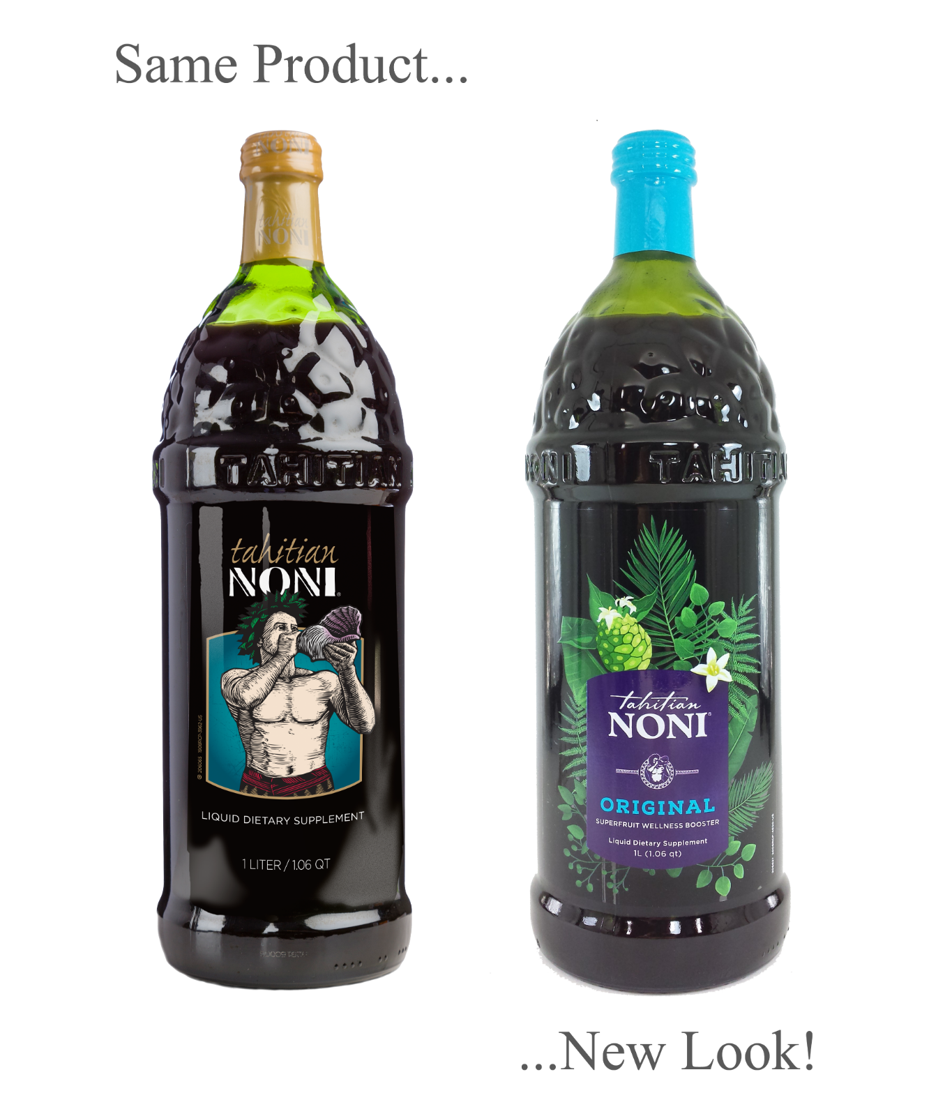 Tahitian Noni Juice by Morinda Inc. (4 bottle case) *NEW LOOK!* 3