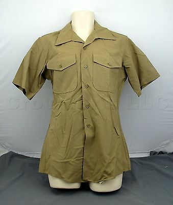 USMC UNITED STATES Marine Corps Service C Charlie Uniform Shirt & Trousers  Belts