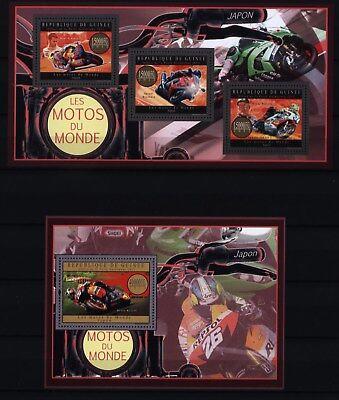 Guinea 2012 - japanische Motorräder - Honda - Suzuki - Yamaha - Rennfahrer