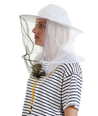 Beekeeping White cotton bee hat and Veils TOGGLE 2