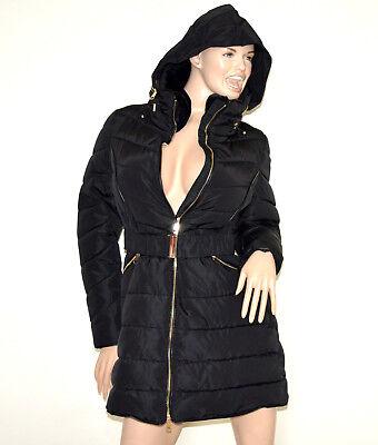 DOUDOUNE NOIR LONG manteau femme veste jaquette blouson