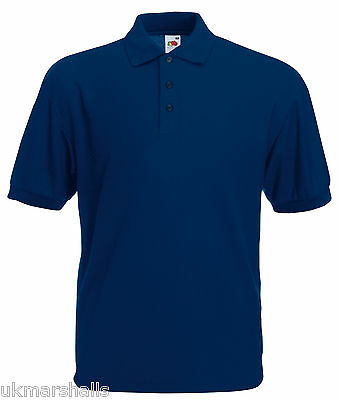 Bulk Buyer Fruit Of The Loom Polo T Shirt 14 Colours All Sizes Bn 5