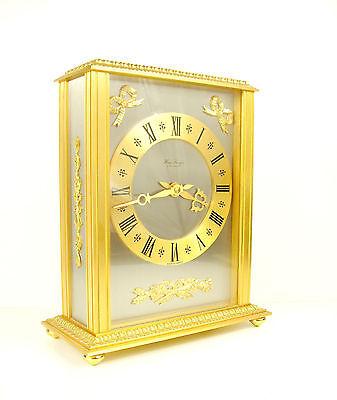 Clock Lavigne Pendulum Napoleon III Bronze H:24 cm 5,5 kg Wide Clock c1980 2