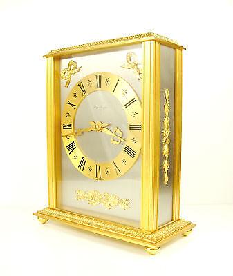 Clock Lavigne Pendulum Napoleon III Bronze H:24 cm 5,5 kg Wide Clock c1980 11
