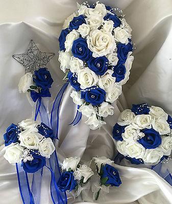 Fiori Matrimonio Mazzo di fiori, Perle & Strass Spose/Damigella/Asole 2