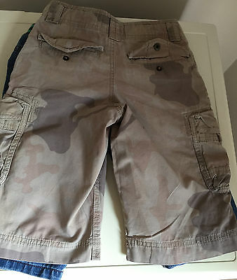 Boys Denim Shorts Marks And Spencer  Size  8 - 9 Years 2