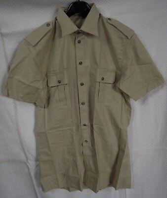 2x Camicie Esercito Italiano Originale manica corta NUOVA