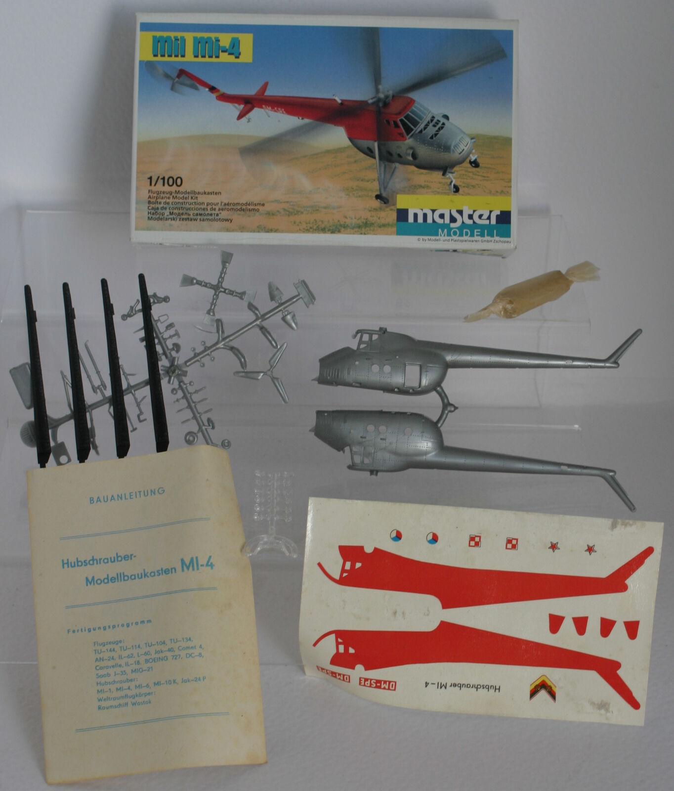 Mil Mi-4 - 1:100 Master Modell / Plasticart 1002, Original! RAR