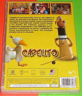 CAPELITO Serie completa 26 episodios de 5 minutos -DVD R2- Precintada 2