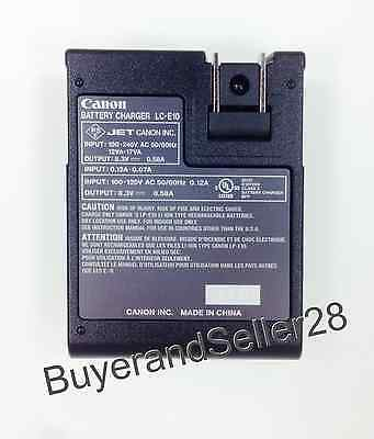 New Genuine Canon Battery Charger LC-E10, Fits Rebel T3/T5/T6/T7 LP-E10 Battery 2