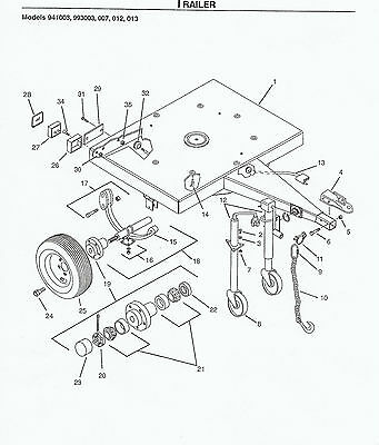 Promark Gravely 310 Chipper Parts Manual