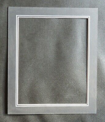 """V Groove Picture Mounts 12"""" x 10"""" ideal for photos size 10"""" x 8"""" Various Colours 5"""